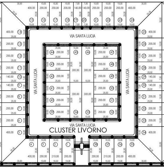 mapa terrenos en venta tulancingo Cluster Livorno